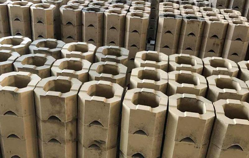 碱性八角筒型砖
